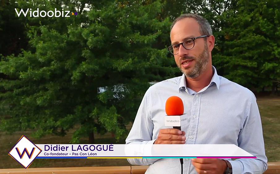 """Didier Lagogué, fondateur de Pas Con Léon : """"L'échec, c'est un alé qui peut survenir si…"""""""