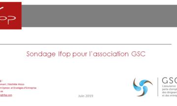 Etude IFOP pour l'association GSC