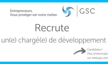 L'association GSC recrute un(e) chargé(e) de développement